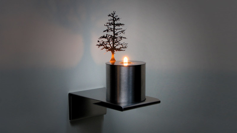 An image of LUMEN FLAME, a product designed and made by Adam Frank.